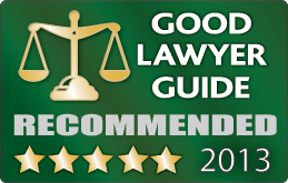 Good Lawyer Guide Recommended - View our solicitor reviews